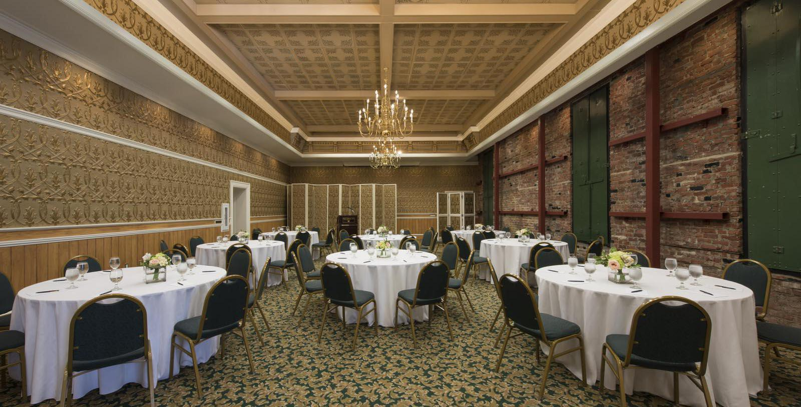 Image of Hatt Hall Meeting Space, Napa River Inn, Napa, California, 1884 Member of Historic Hotels of America, Experience