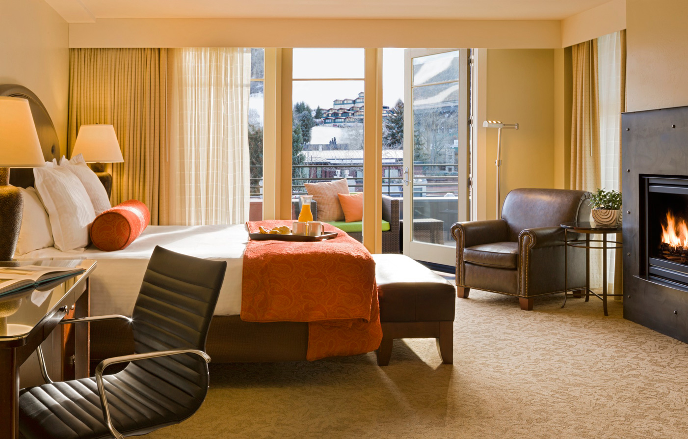 Accommodations:      The Limelight Hotel  in Aspen