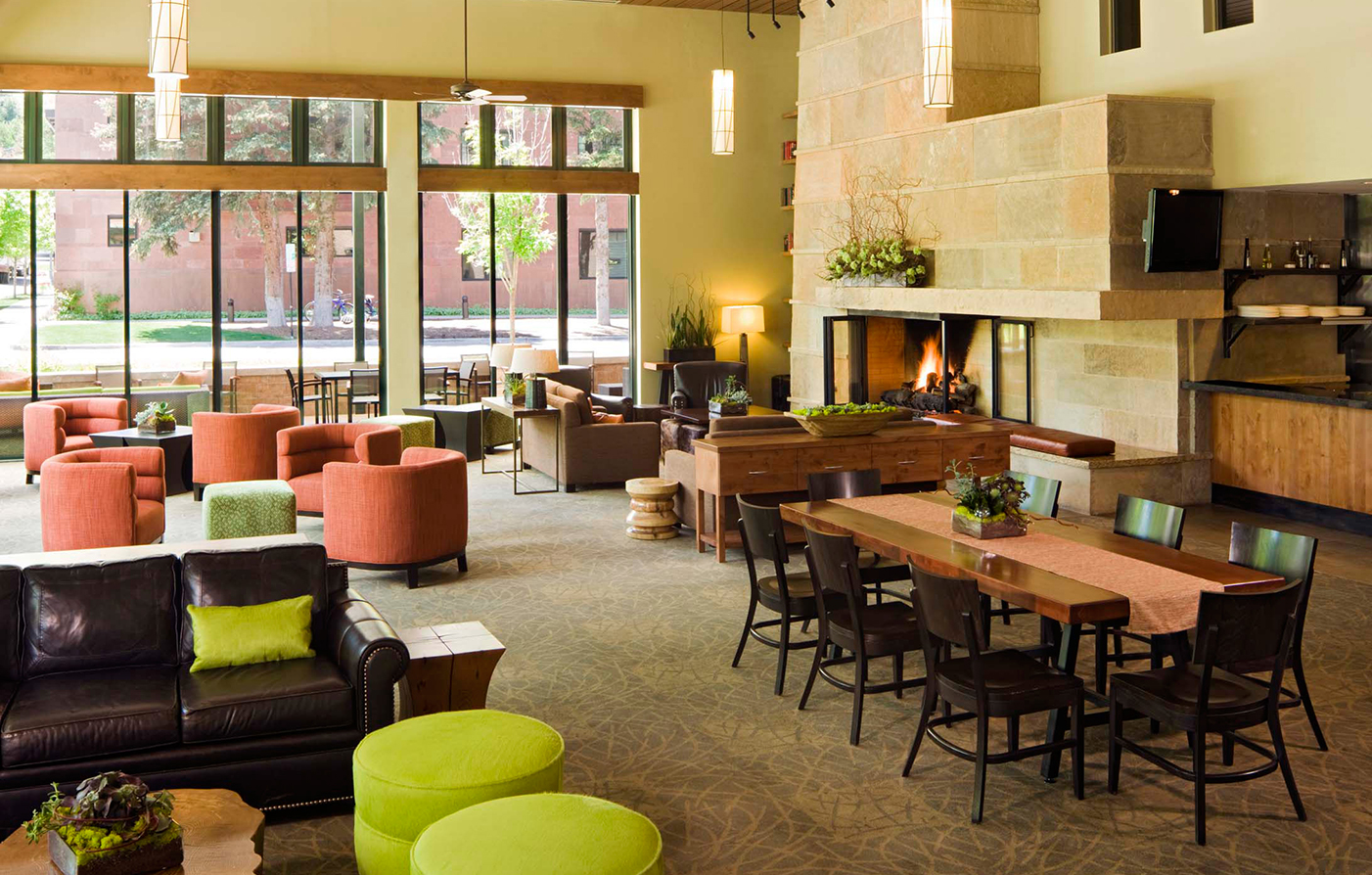 Dining:      The Limelight Hotel  in Aspen