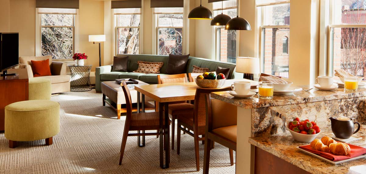 Accommodations:      Limelight Hotel Aspen  in Aspen