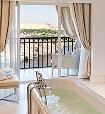 Accommodations:      Sofitel Legend Old Cataract Aswan  in Aswan