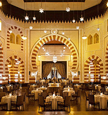 Dining at      Sofitel Legend Old Cataract Aswan  in Aswan