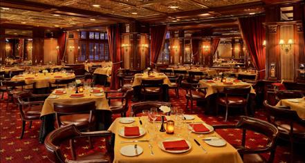 Dining at      The Driskill  in Austin