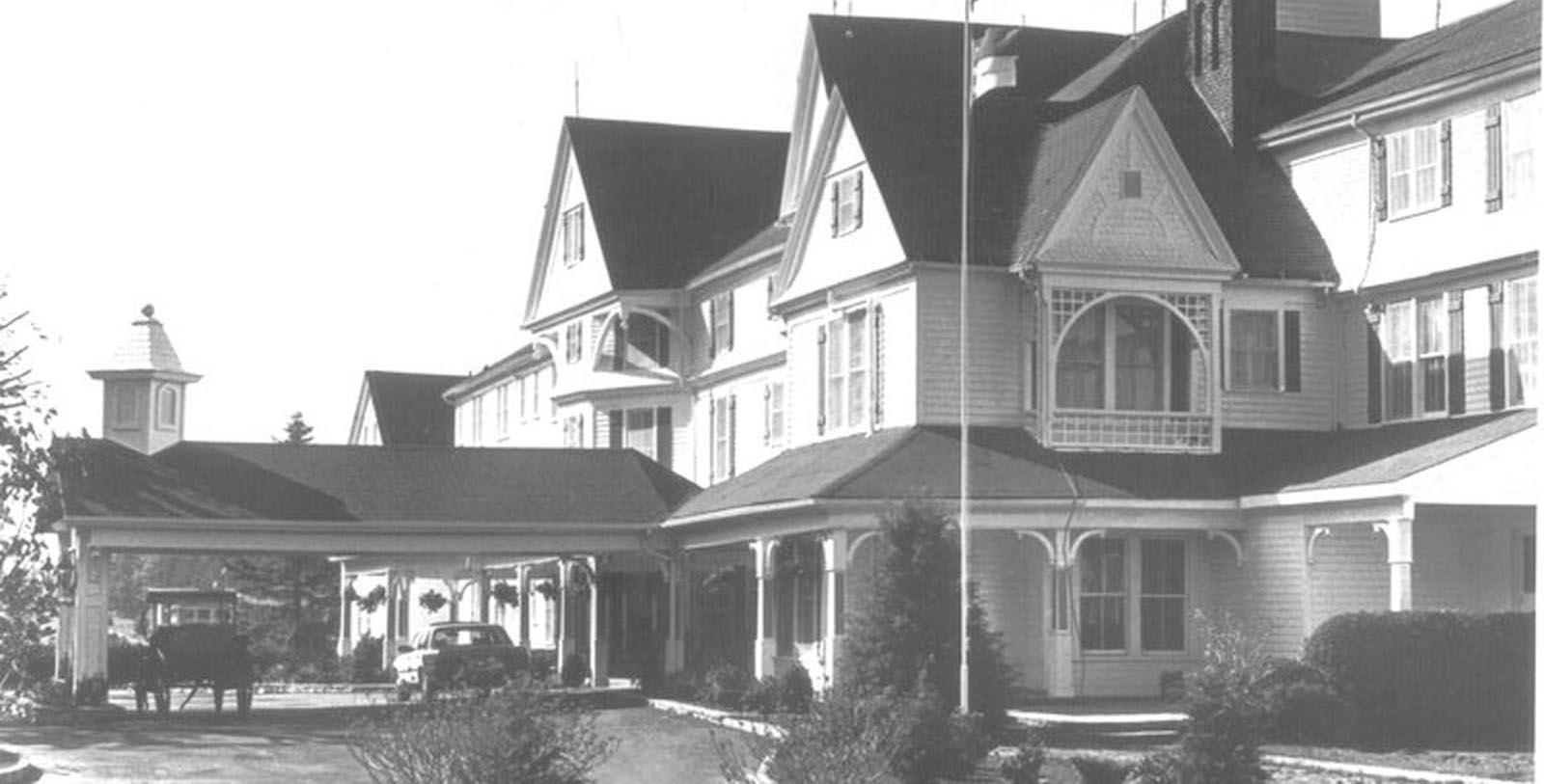 Historic image of Green Park Inn, 1891, Member of Historic Hotels of America, in Blowing Rock, North Carolina, Discover