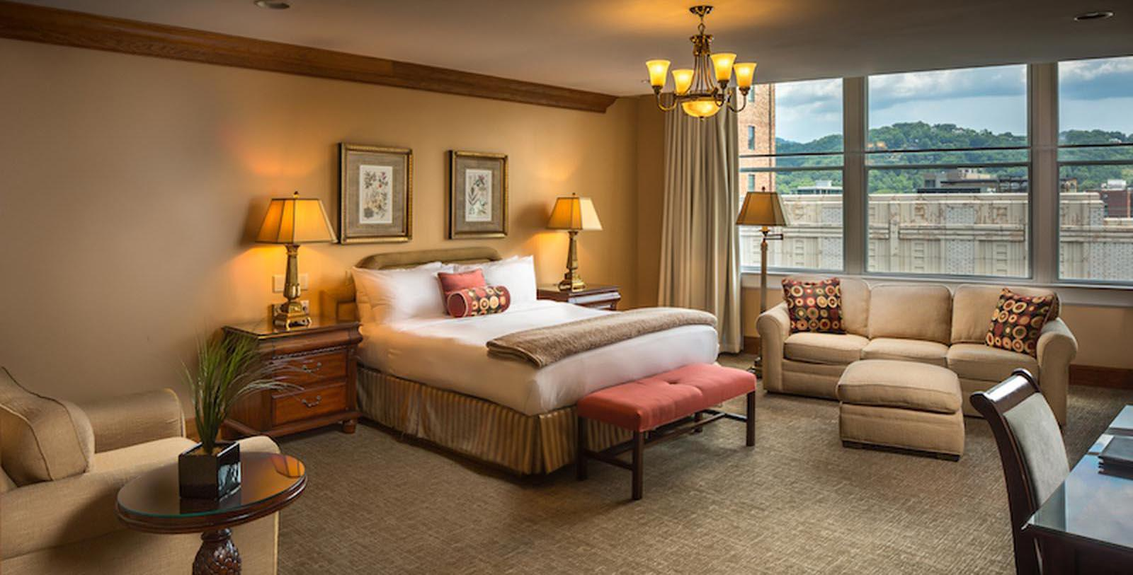 Image of Guestroom Haywood Park, 1923, Member of Historic Hotels of America, in Asheville, North Carolina, Accommodations