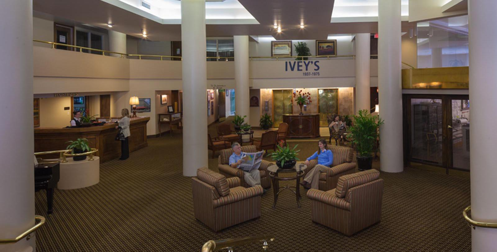 Image of lobby Haywood Park, 1923, Member of Historic Hotels of America, in Asheville, North Carolina, Taste