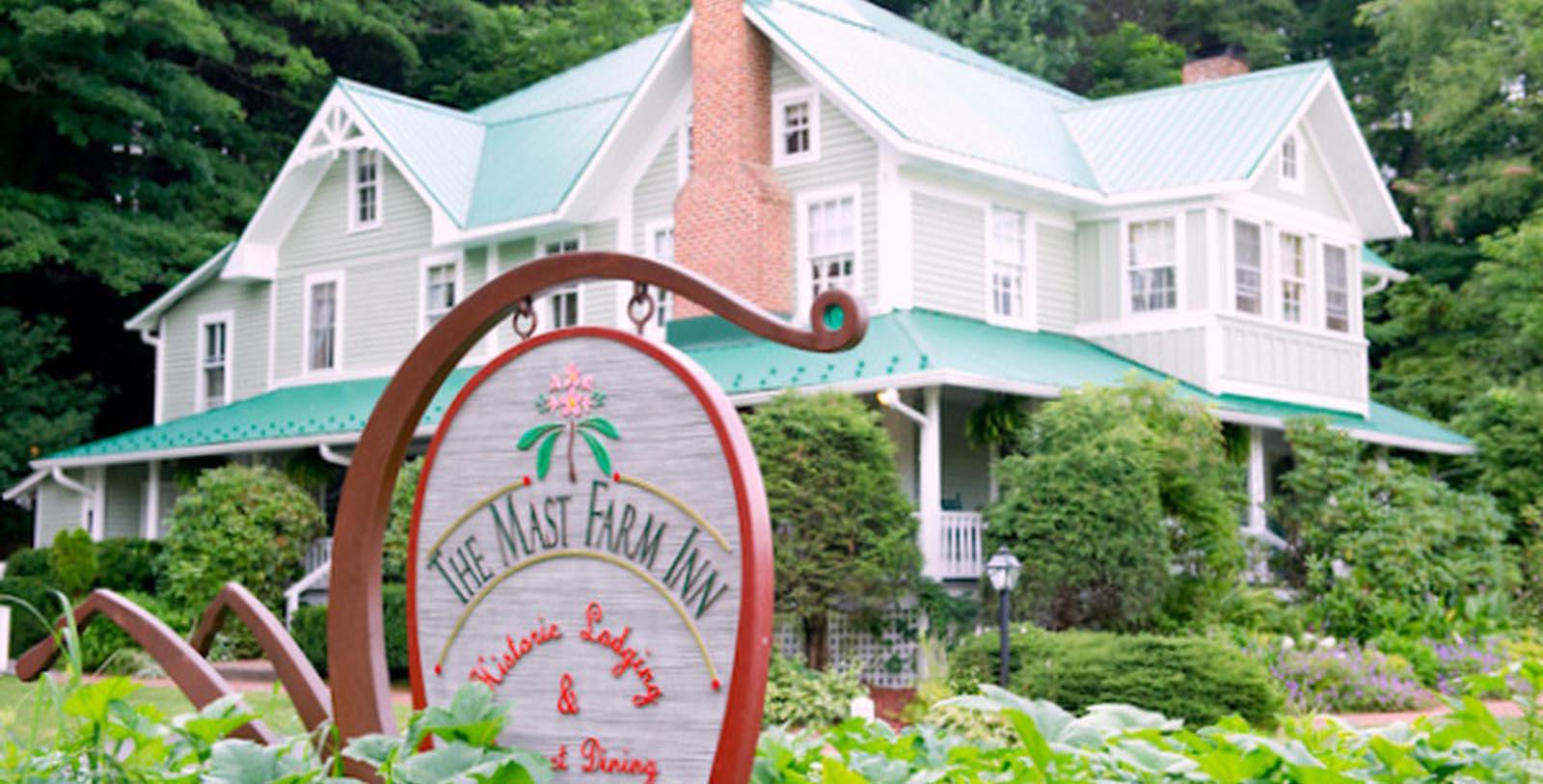 Image of Exterior, Mast Farm Inn in Banner Elk, North Carolina, 1792, Member of Historic Hotels of America, Special Offers, Discounted Rates, Families, Romantic Escape, Honeymoons, Anniversaries, Reunions