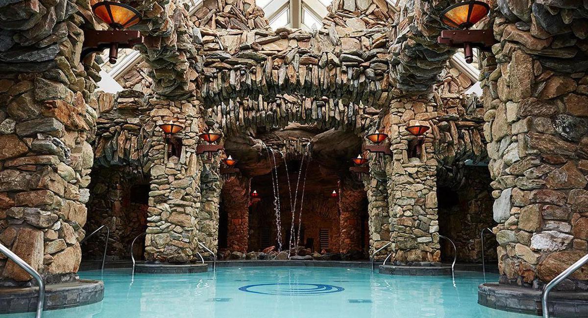 Image of Indoor Pool, Omni Bedford Springs Resort, in Bedford, Pennsylvania, Spa