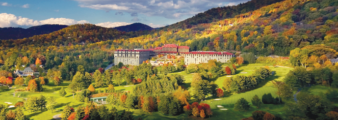 The Omni Grove Park Inn In Asheville