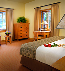Accommodations:      The Omni Grove Park Inn  in Asheville