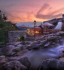 Activities:      The Omni Grove Park Inn  in Asheville