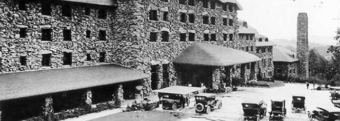 History:      The Omni Grove Park Inn  in Asheville