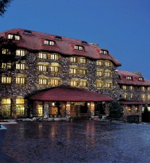 Dining at      The Omni Grove Park Inn  in Asheville