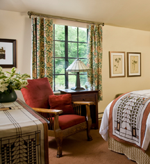 Accommodations:      The Settlers Inn at Bingham Park  in Hawley