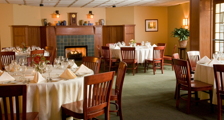 Dining at      The Settlers Inn at Bingham Park  in Hawley