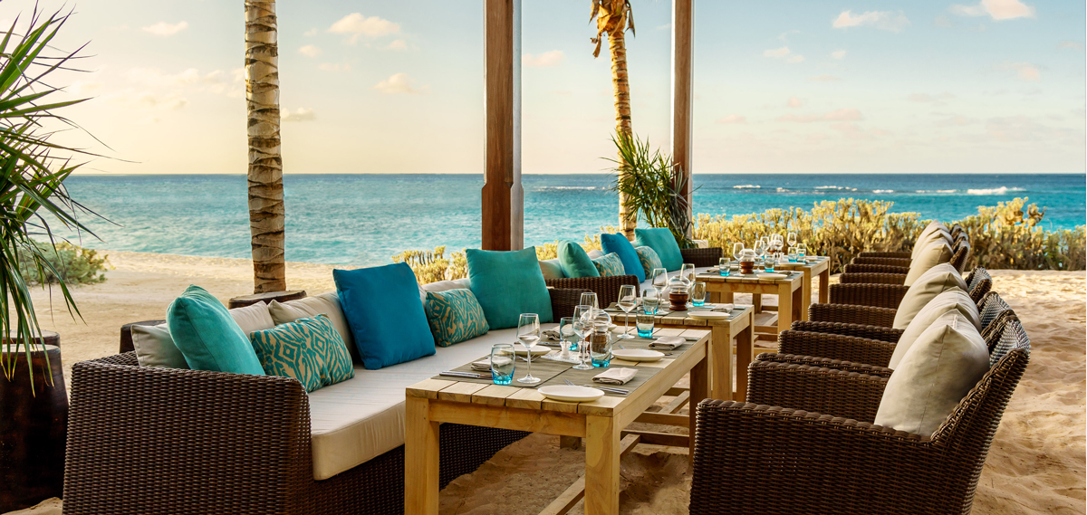 Dining:      Zemi Beach House Resort & Spa  in Shoal Bay Village