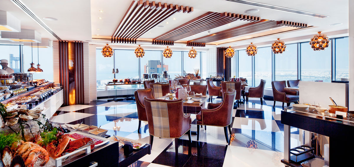 Dining:      The Domain Hotel & Spa  in Manama
