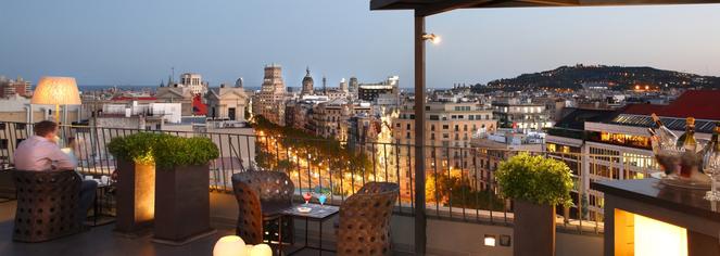 Hotel Majestic in Barcelona