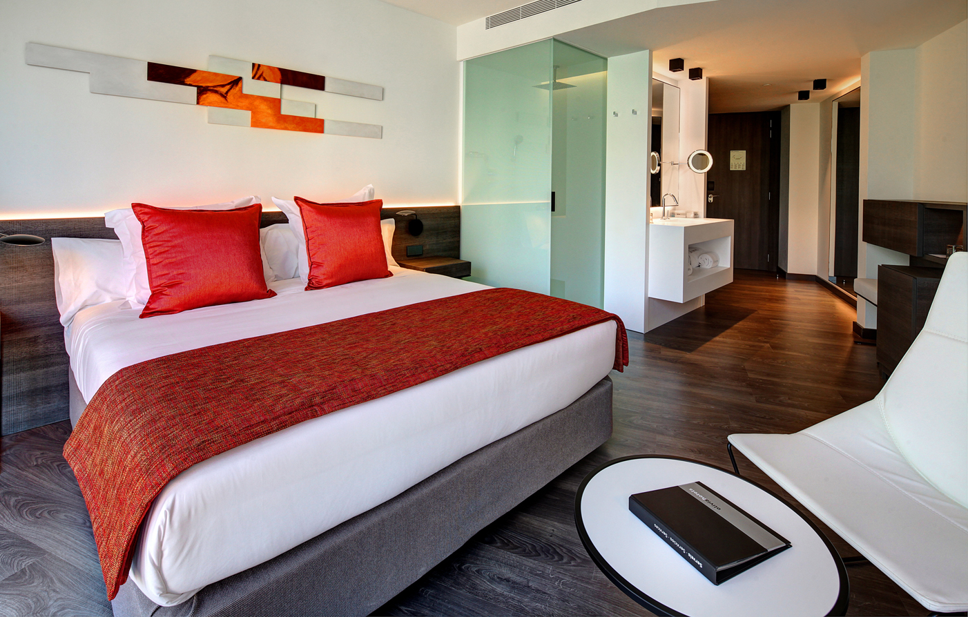 Accommodations:      Olivia Balmes Hotel  in Barcelona