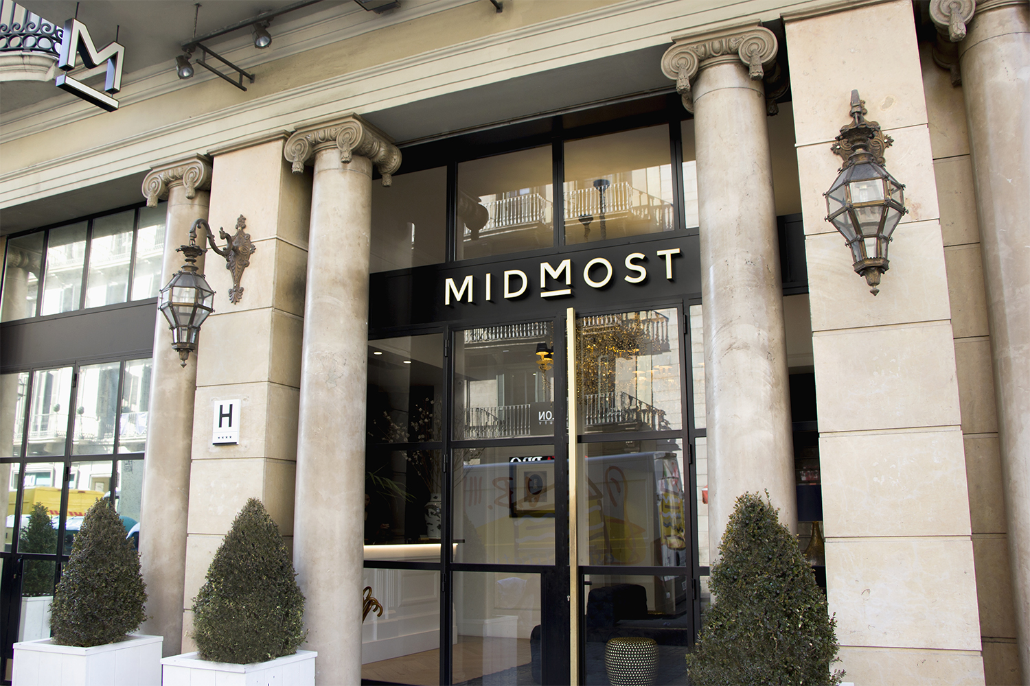 Hotel Midmost Exterior Barcelona Spain