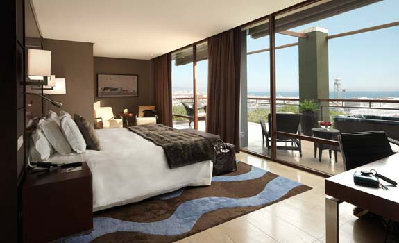 Hotel Miramar Barcelona  - Accommodations