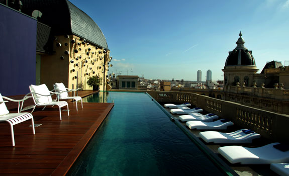 Luxury barcelona hotels hotel ohla barcelona five star for Ohla hotel barcelona
