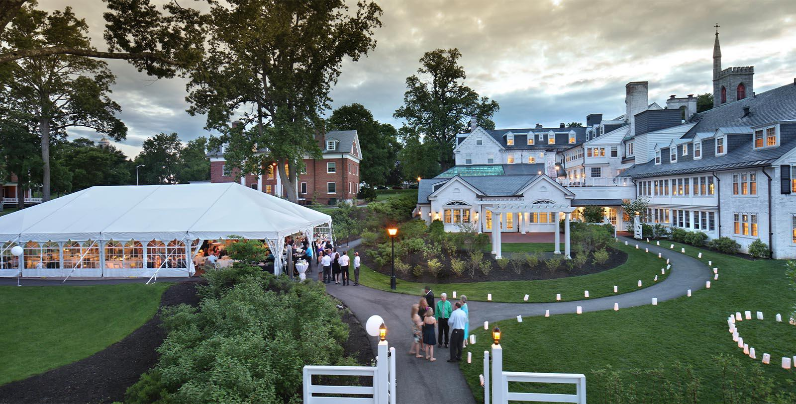 Image of Outdoor Event at Inn on Boltwood, in Amherst, Massachussetts, 1926, Member of Historic Hotels of America, Experience