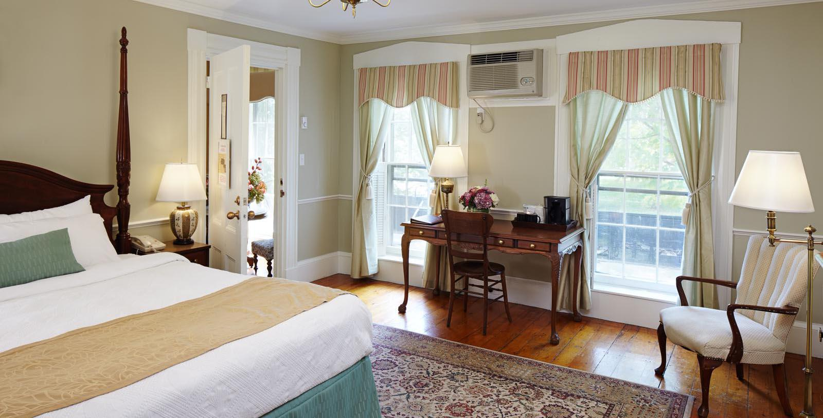 Image of Guestroom at Concord's Colonial Inn, 1716, Member of Historic Hotels of America, in Concord, Massachusetts Explore