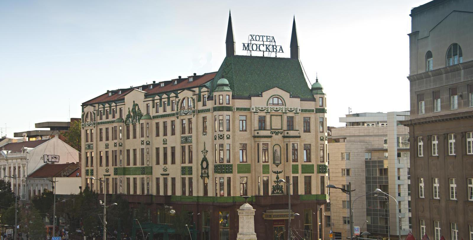 Image of Exterior, Hotel Moskva, Belgrade, Sebia, 1908, Member of Historic Hotels Worldwide, Overview