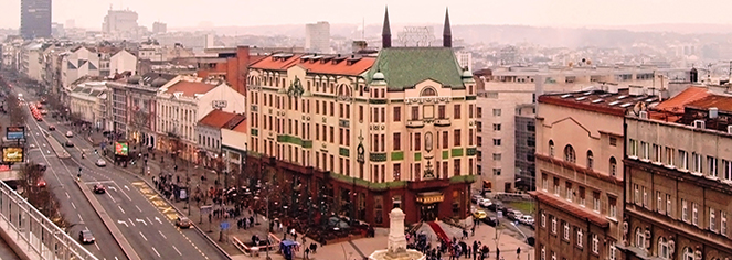 Local Attractions:      Hotel Moskva  in Belgrade