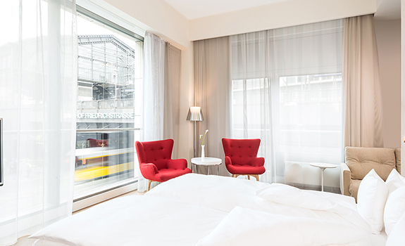 NH Collection Berlin Friedrichstrasse  - Accommodations