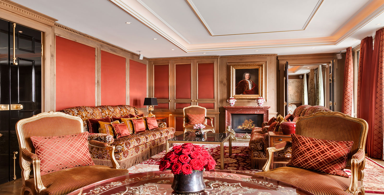 Image of Suite Living Room, Hotel Adlon Kempinski, Berlin, Germany, 1907, Member of Historic Hotels Worldwide, Hot Deals