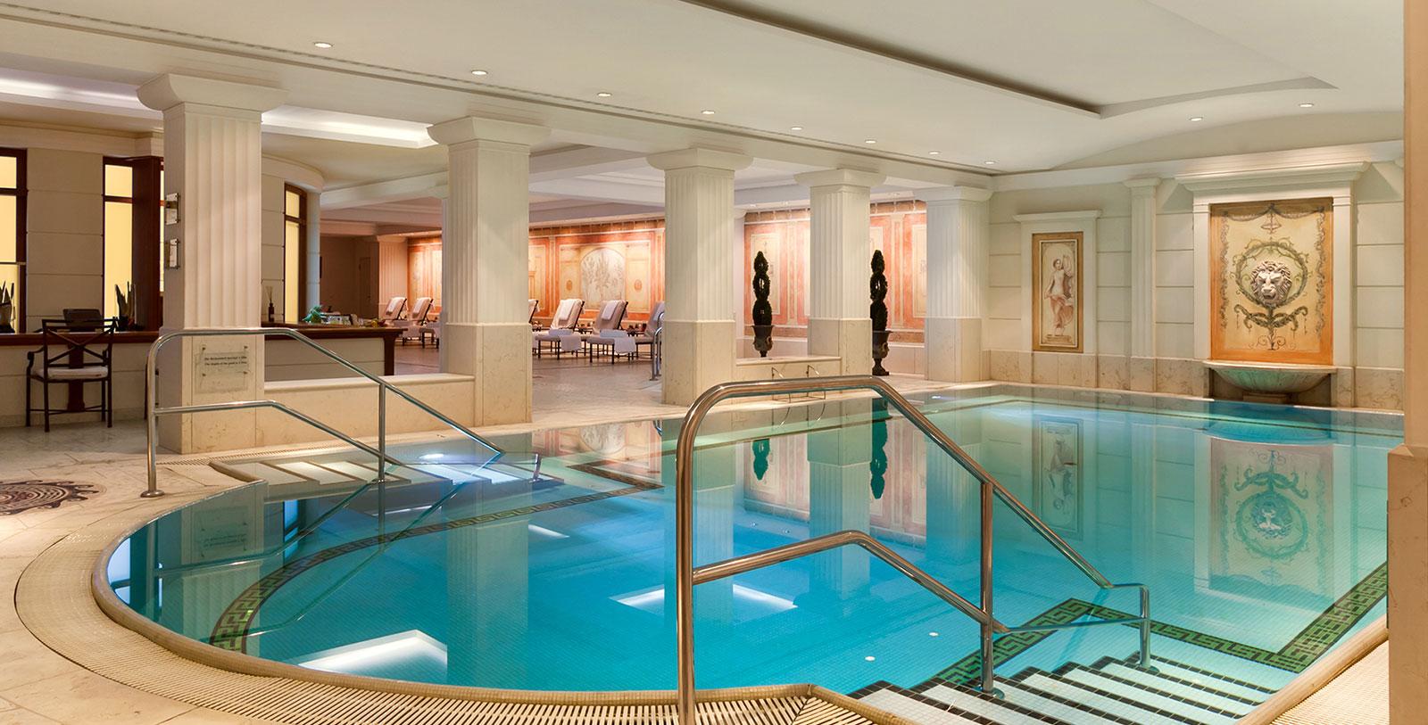 Image of Pool, Hotel Adlon Kempinski, Berlin, Germany, 1907, Member of Historic Hotels Worldwide, Spa