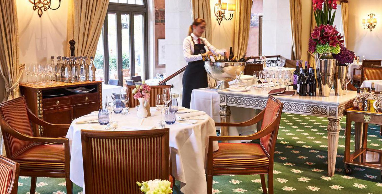 Image of Quarre Restaurant, Hotel Adlon Kempinski, Berlin, Germany, 1907, Member of Historic Hotels Worldwide, Hot Deals