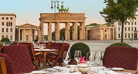 Dining at      Hotel Adlon Kempinski  in Berlin