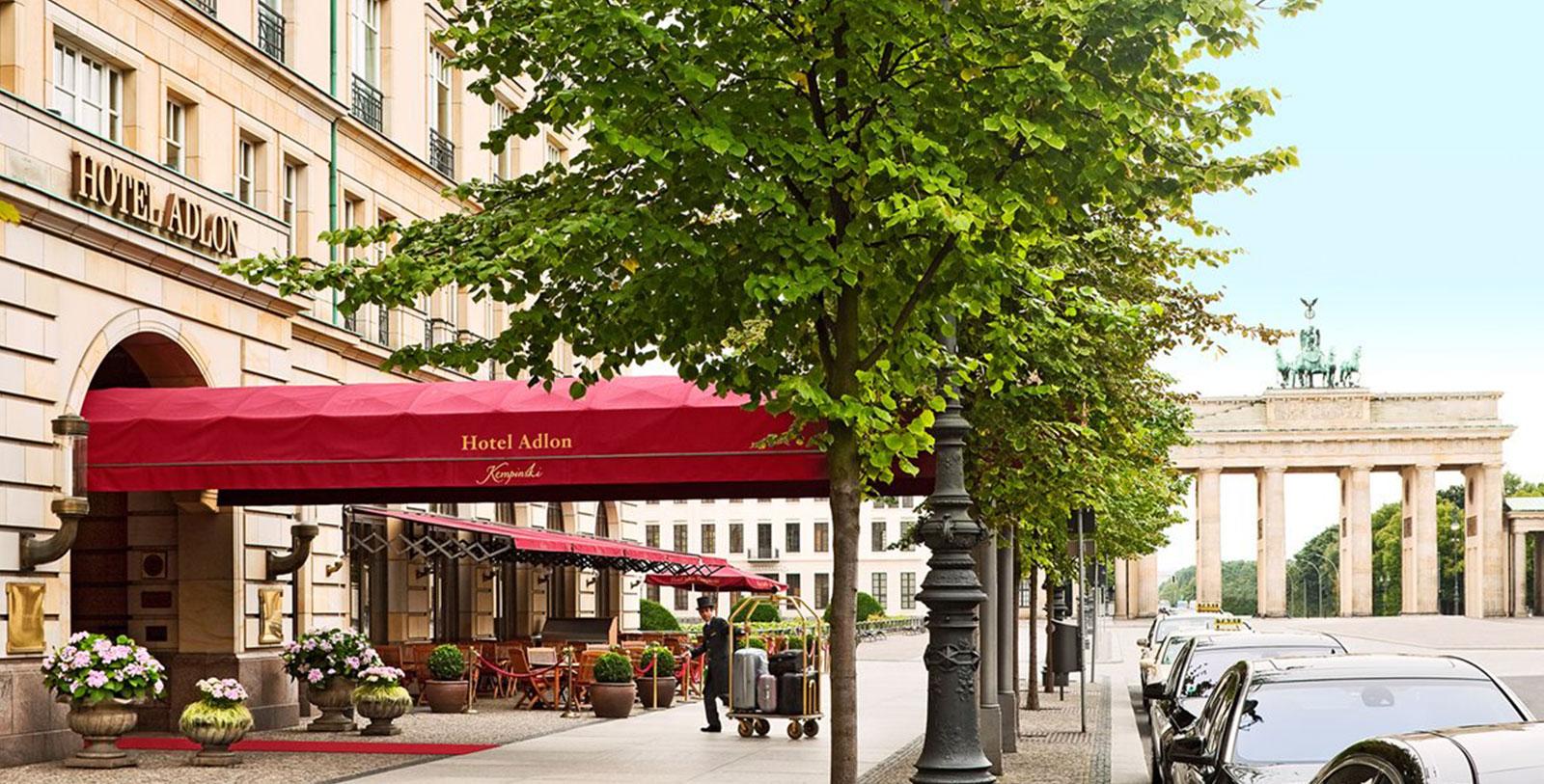 Image of Exterior, Hotel Adlon Kempinski, Berlin, Germany, 1907, Member of Historic Hotels Worldwide, Overview
