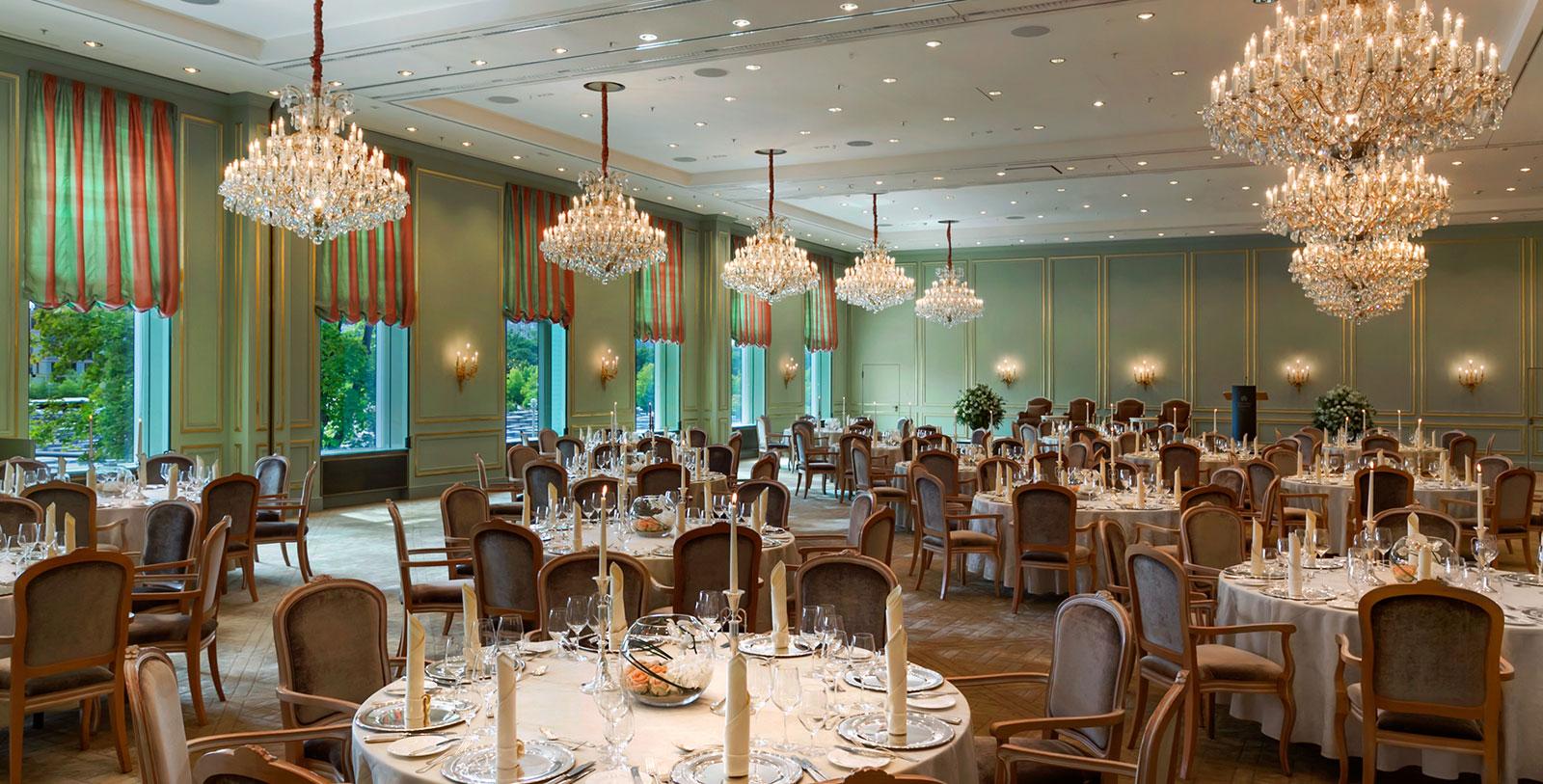 Image of Event Dining, Hotel Adlon Kempinski, Berlin, Germany, 1907, Member of Historic Hotels Worldwide, Weddings