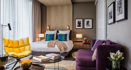 Accommodations:      SO/ Berlin Das Stue  in Berlin