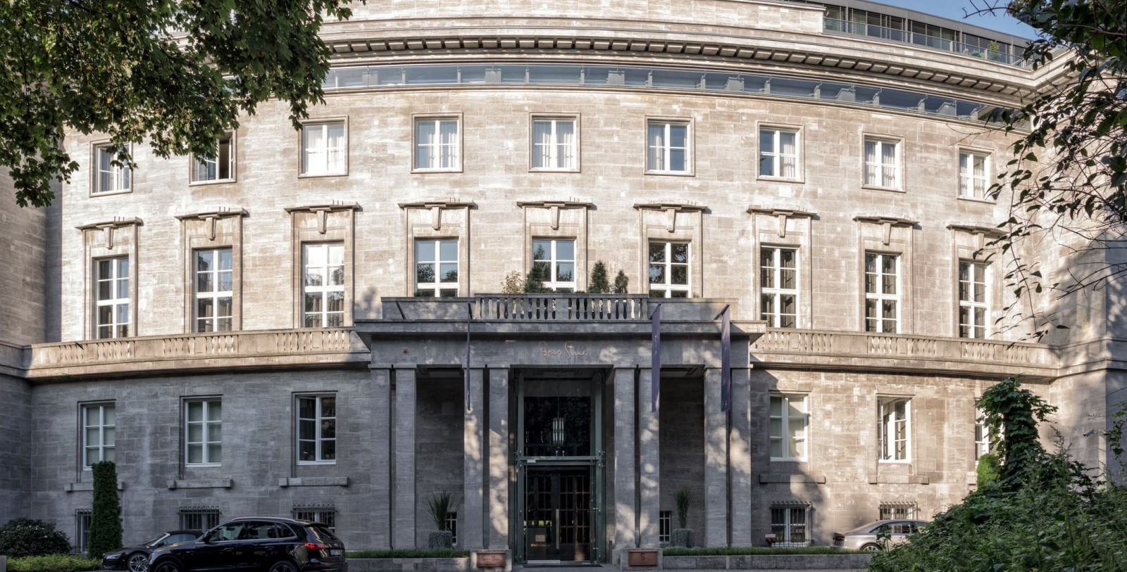 Image of Exterior Hotel SO/ Berlin Das Stue, 1938, Member of Historic Hotels Worldwide, in Berlin, Germany, Special Offers, Discounted Rates, Families, Romantic Escape, Honeymoons, Anniversaries, Reunions