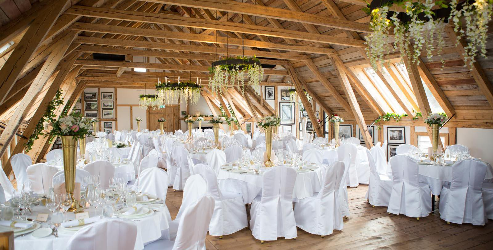 Image of meeting and event space set up for banquet Bekkjarvik Gjestgiveri, 1700s, Member of Historic Hotels Worldwide, in Norway, Experience