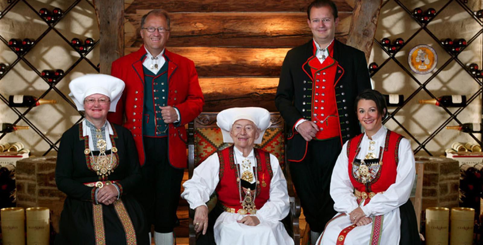 Image of Hotel Workers, Hotel Ullensvang, Lofthus, Norway, 1846, Member of Historic Hotels Worldwide, Discover