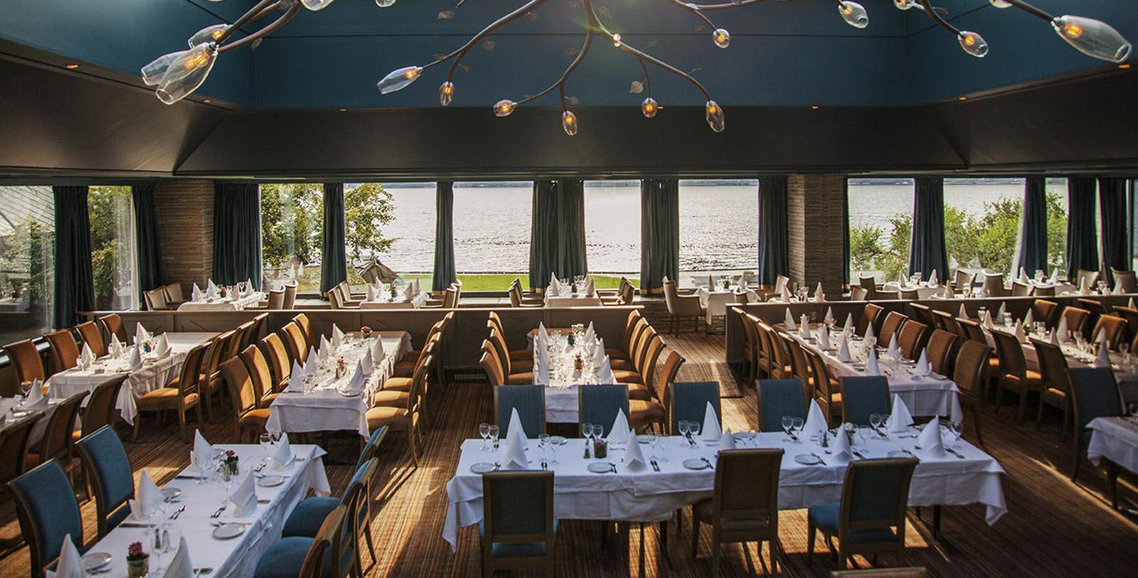 Image of Restaurant, Hotel Ullensvang, Lofthus, Norway, 1846, Member of Historic Hotels Worldwide, Taste