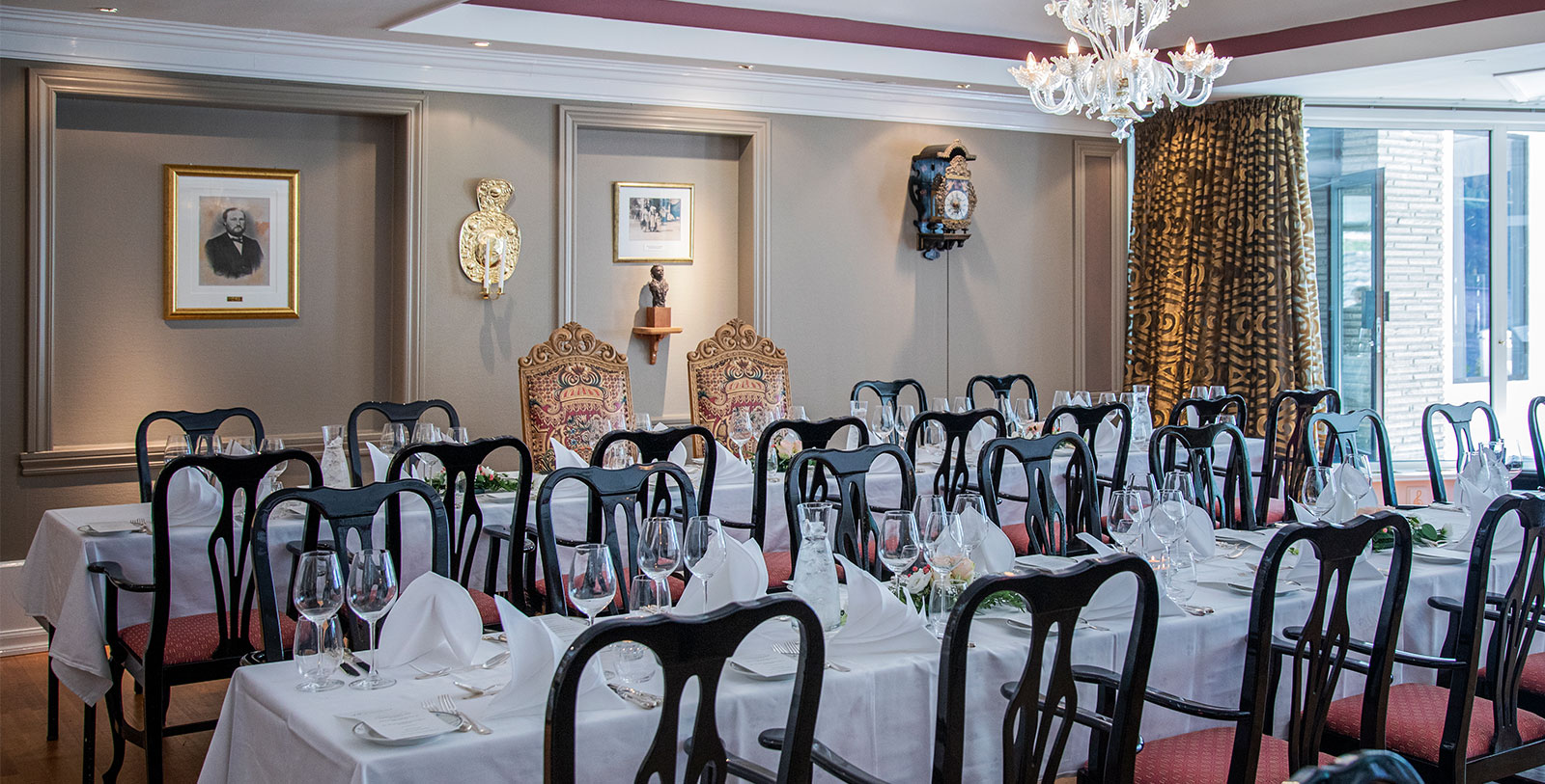 Image of Wedding Reception, Hotel Ullensvang, Lofthus, Norway, 1846, Member of Historic Hotels Worldwide, Weddings