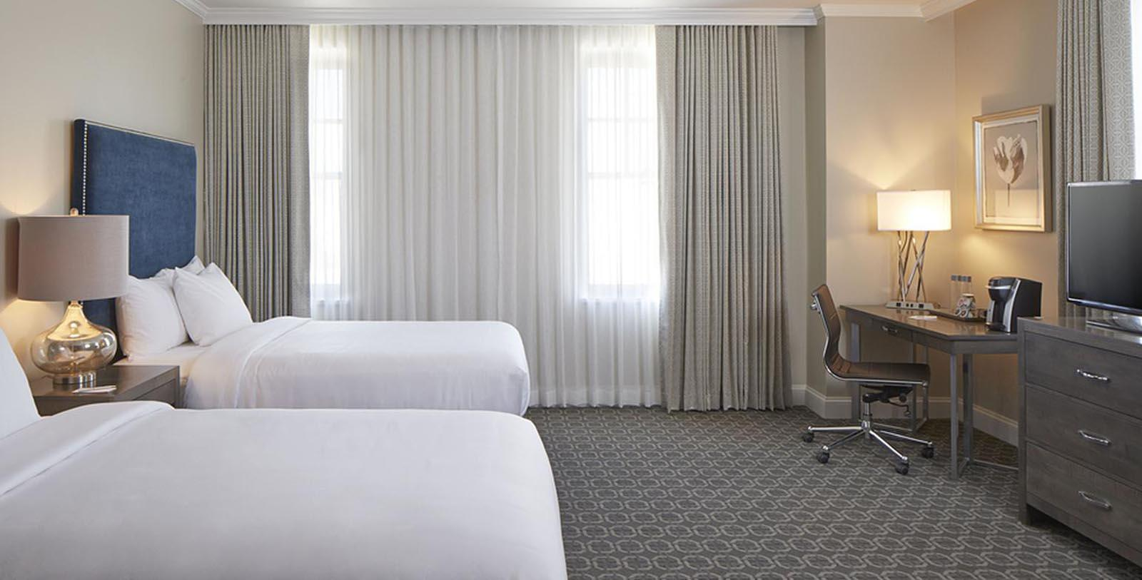 Image of Guestroom at The Redmont Hotel Birmingham, Curio Collection by Hilton, 1925, Member of Historic Hotels of America, in Birmingham, Alabama, Explore