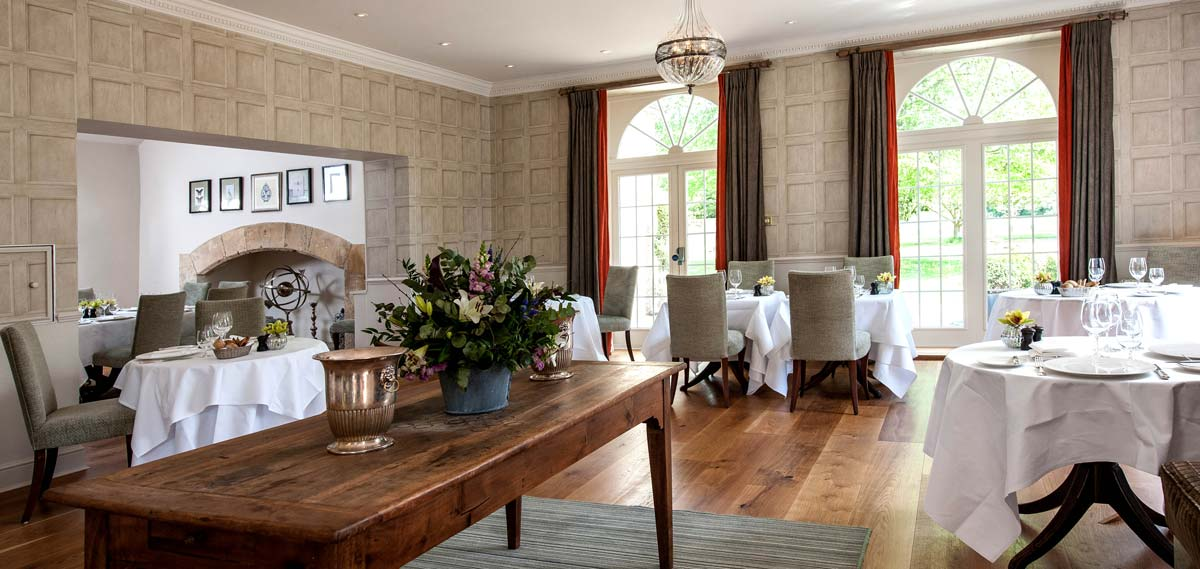Dining:      The Slaughters Manor House  in Lower Slaughter