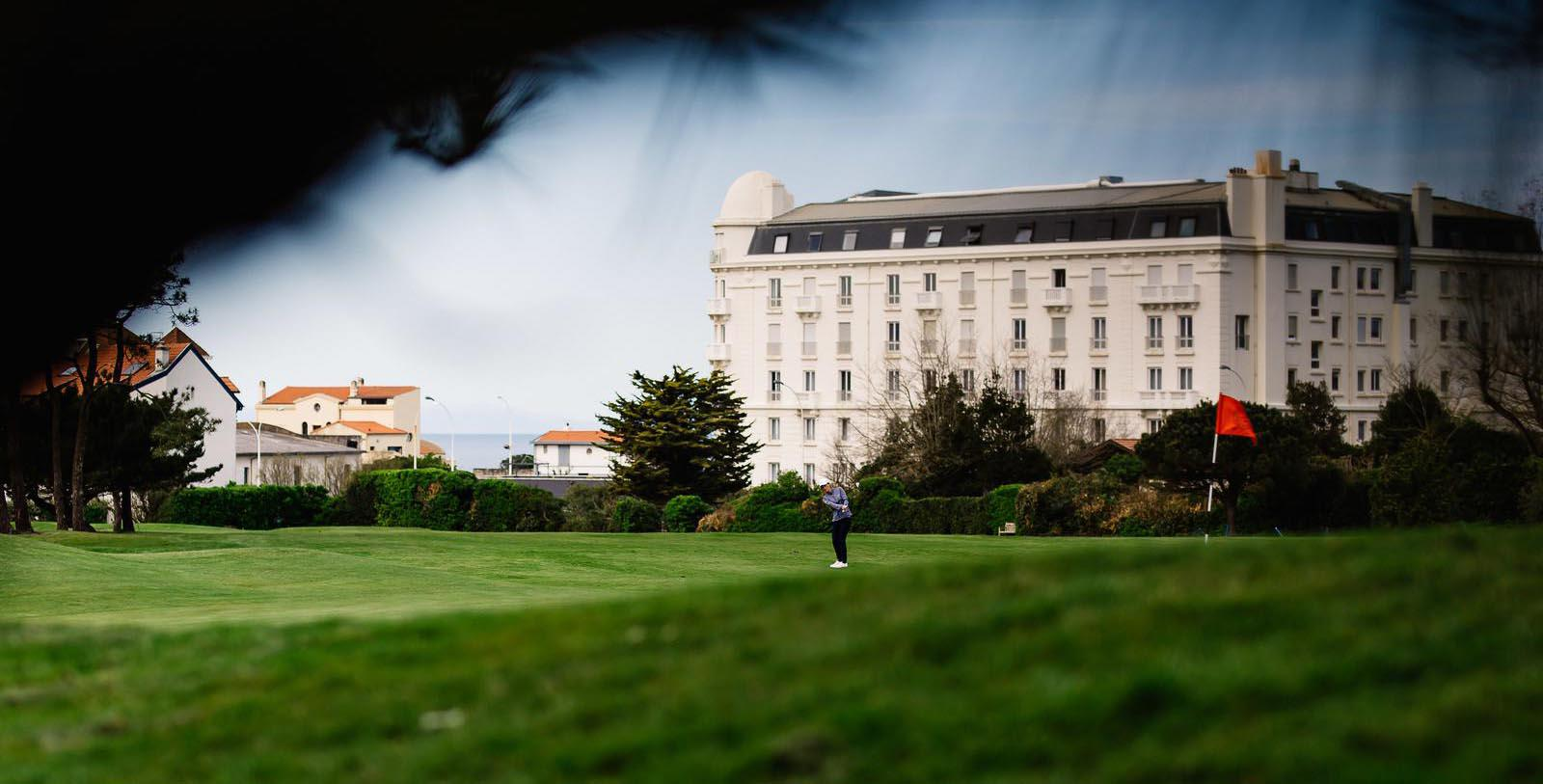 Image of Golf Course Le Régina Biarritz Hôtel & Spa - MGallery by Sofitel, 1907, Member of Historic Hotels Worldwide, in Biarritz, France, Hot Deals