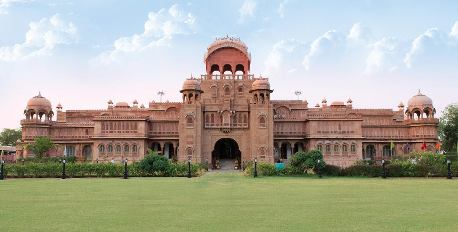Image of Hotel Exterior Laxmi Niwas Palace, 1904, Member of Historic Hotels Worldwide, in Bikaner, India, Special Offers, Discounted Rates, Families, Romantic Escape, Honeymoons, Anniversaries, Reunions