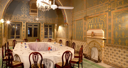 Meetings at      Laxmi Niwas Palace  in Bikaner