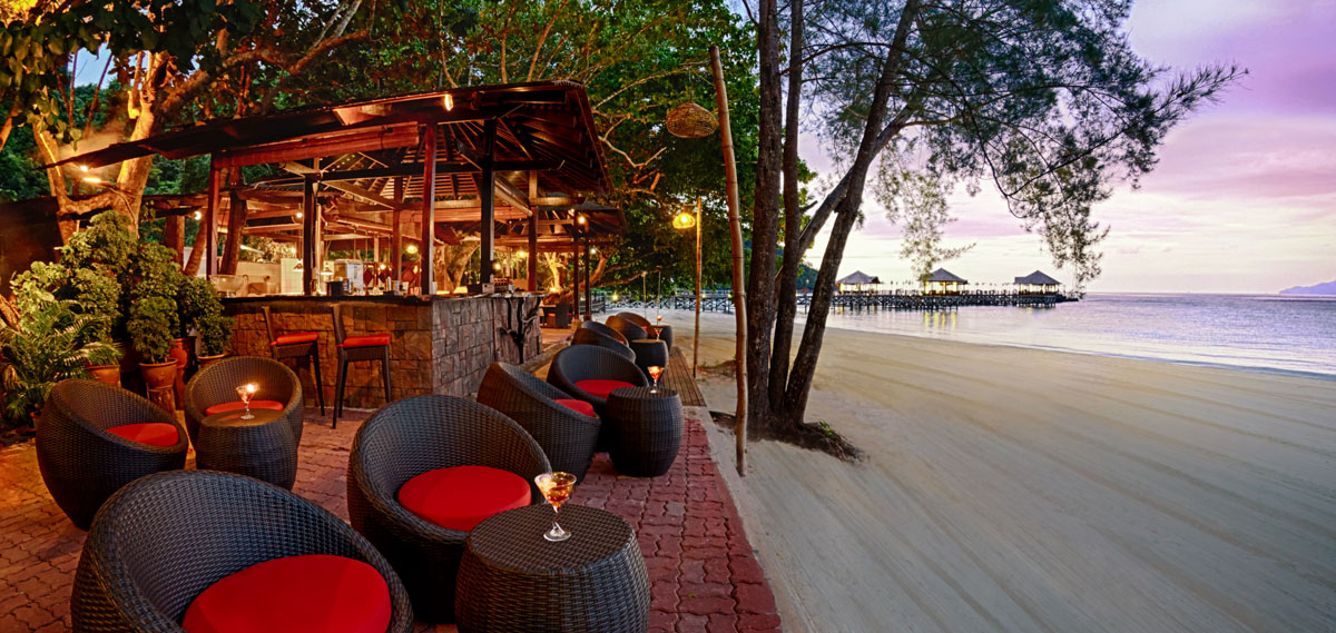 Dining:      Bunga Raya Island Resort & Spa  in Kota Kinabalu