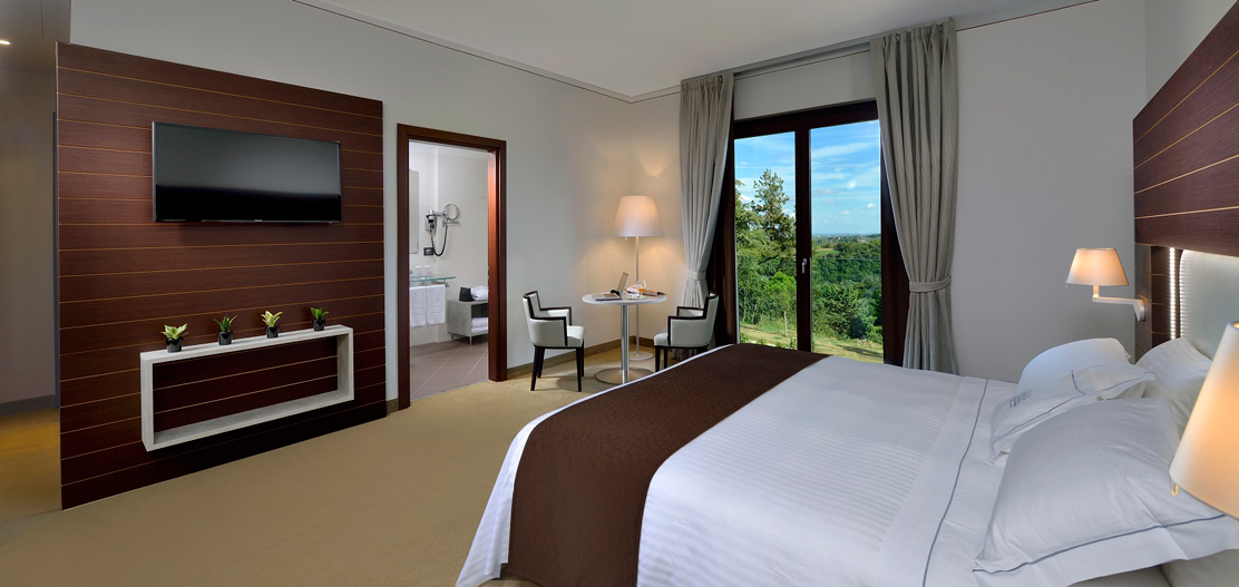 Accommodations:      Palazzo di Varignana Resort and Spa  in Bologna